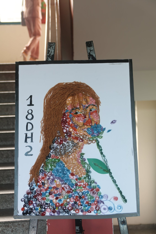 Đã mắt chiêm ngưỡng món quà tinh thần của sinh viên Kiến trúc Đà Nẵng tri ân thầy cô dịp 20/11 Ảnh 4