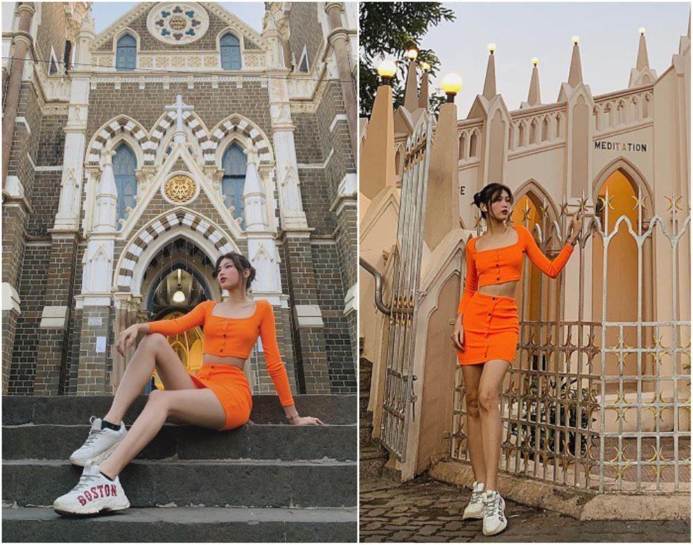 Á hậu 2 Hoa hậu Việt Nam 2020 Ngọc Thảo chuộng váy siêu ngắn khoe đôi chân 1m11 Ảnh 10