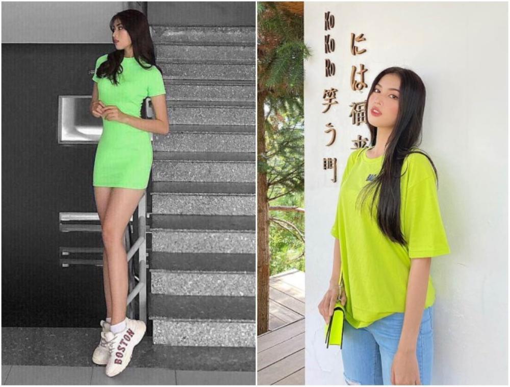 Á hậu 2 Hoa hậu Việt Nam 2020 Ngọc Thảo chuộng váy siêu ngắn khoe đôi chân 1m11 Ảnh 11