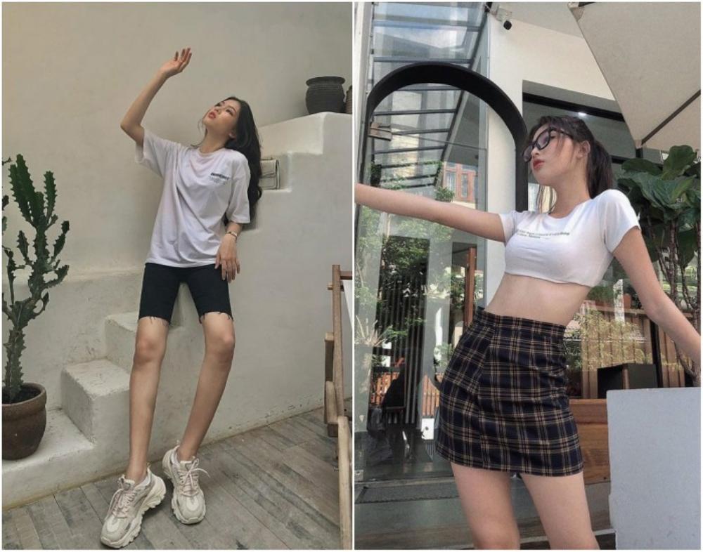 Á hậu 2 Hoa hậu Việt Nam 2020 Ngọc Thảo chuộng váy siêu ngắn khoe đôi chân 1m11 Ảnh 9