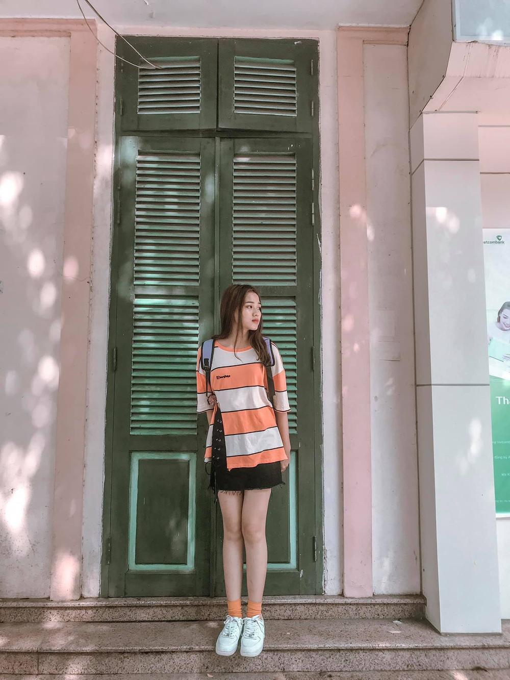 Thời trang streetstyle trẻ trung của Tân Hoa hậu Việt Nam Đỗ Thị Hà Ảnh 3