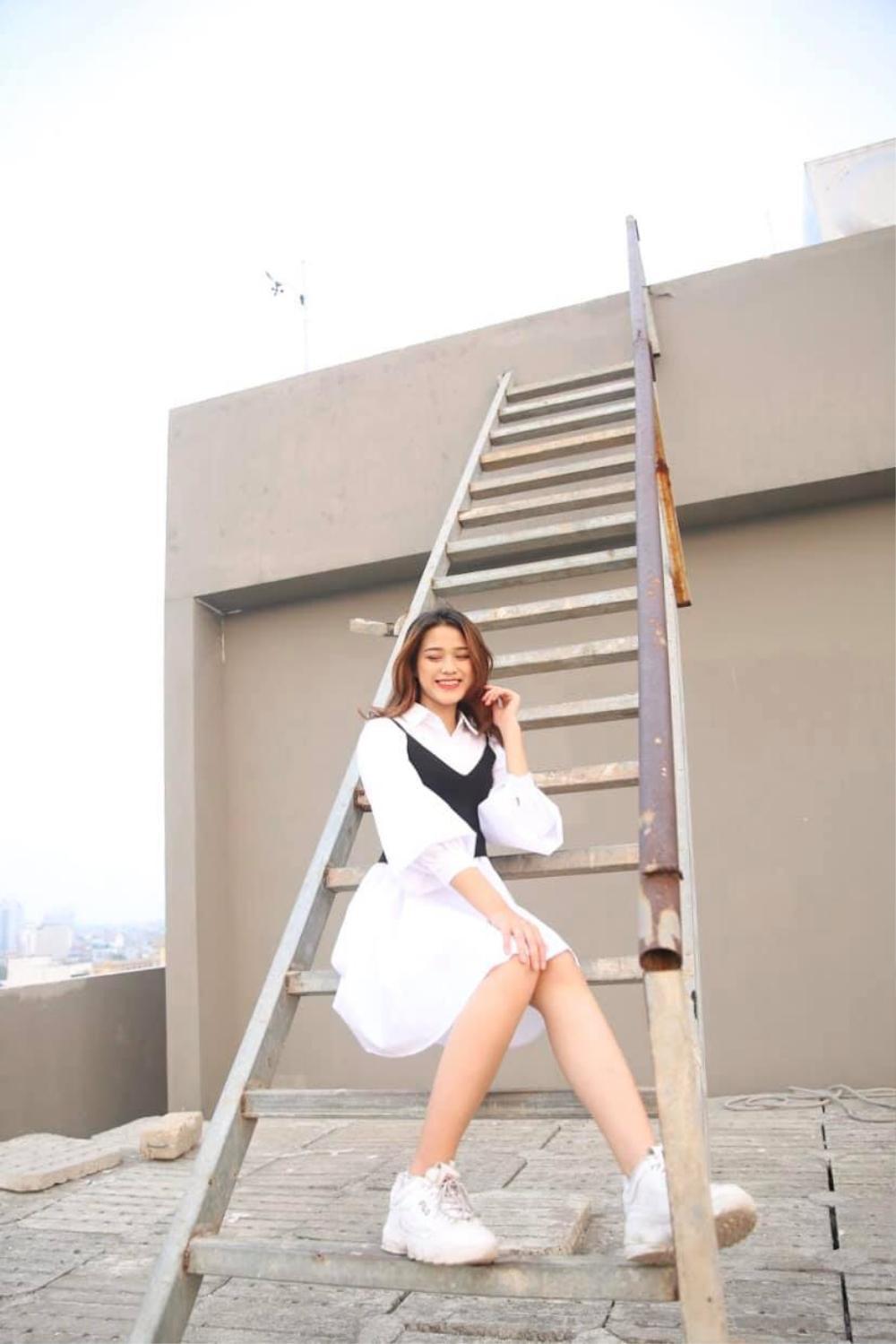 Thời trang streetstyle trẻ trung của Tân Hoa hậu Việt Nam Đỗ Thị Hà Ảnh 10