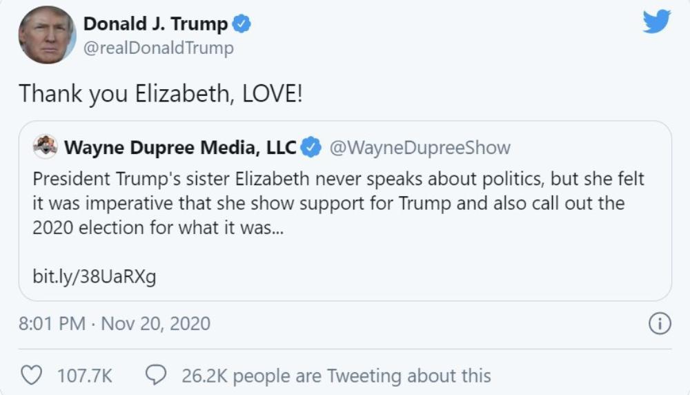 Tổng thống Trump trở thành nạn nhân của tin giả Ảnh 1