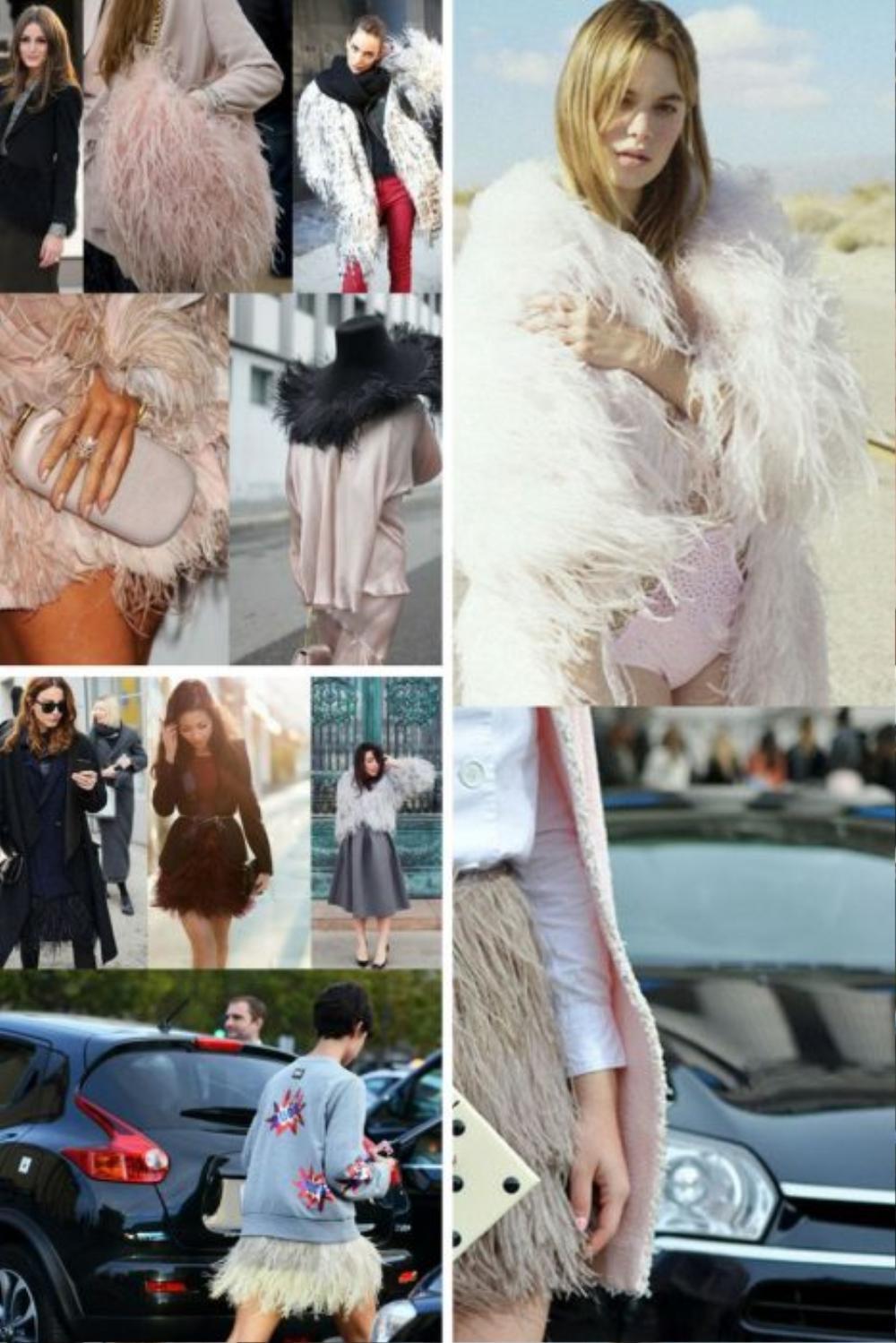 Thu/đông 2020: Fashionista khắp thế giới rộn ràng trong bữa tiệc thời trang lông vũ Ảnh 2