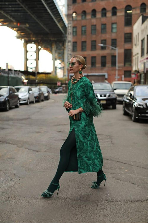 Thu/đông 2020: Fashionista khắp thế giới rộn ràng trong bữa tiệc thời trang lông vũ Ảnh 8