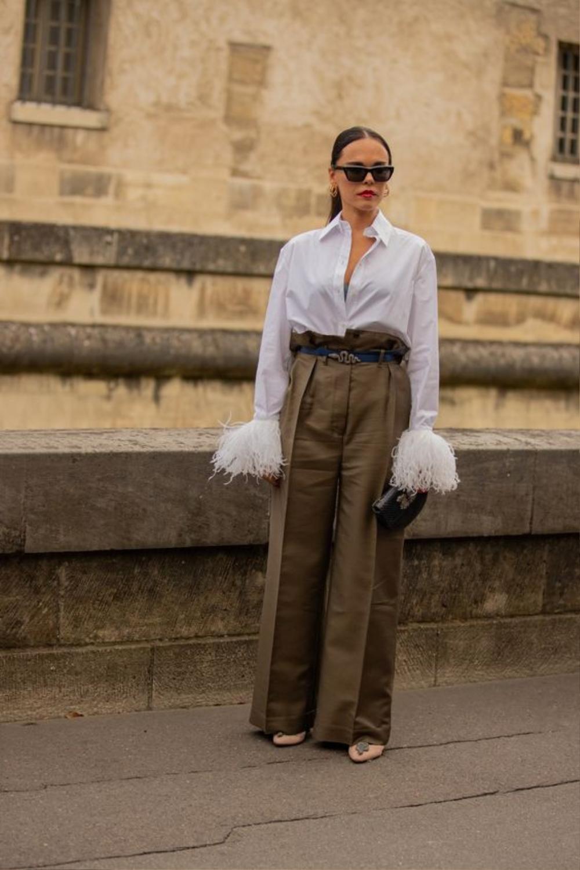 Thu/đông 2020: Fashionista khắp thế giới rộn ràng trong bữa tiệc thời trang lông vũ Ảnh 17