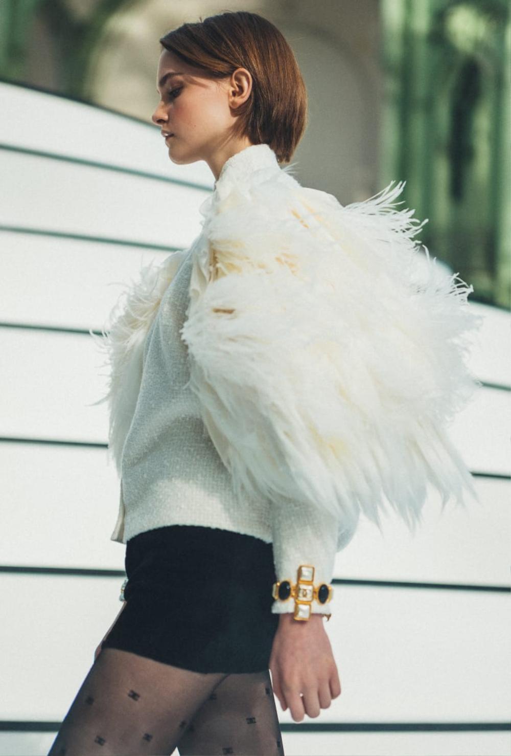 Thu/đông 2020: Fashionista khắp thế giới rộn ràng trong bữa tiệc thời trang lông vũ Ảnh 20