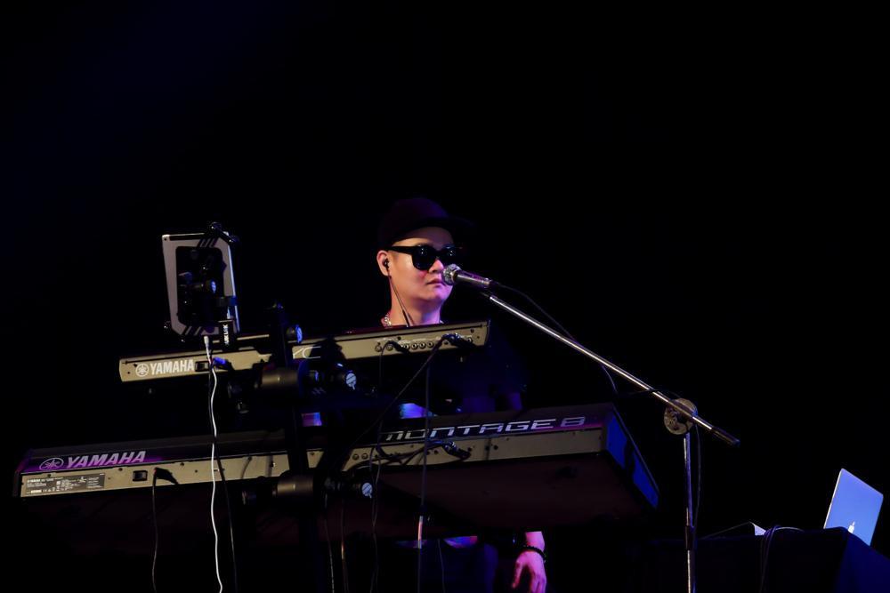 Dàn nhạc cụ YAMAHA 800 triệu đồng giúp chung kết King of Rap thăng hoa và đỉnh cao Ảnh 1