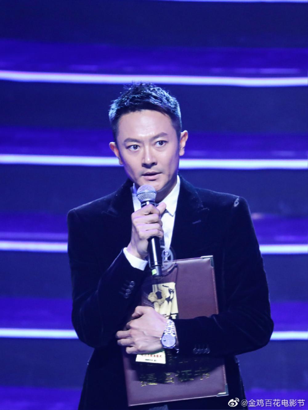 Dịch Dương Thiên Tỉ - Châu Đông Vũ cùng nhận thưởng đề cử, Huỳnh Hiểu Minh phát biểu gây chú ý Ảnh 3
