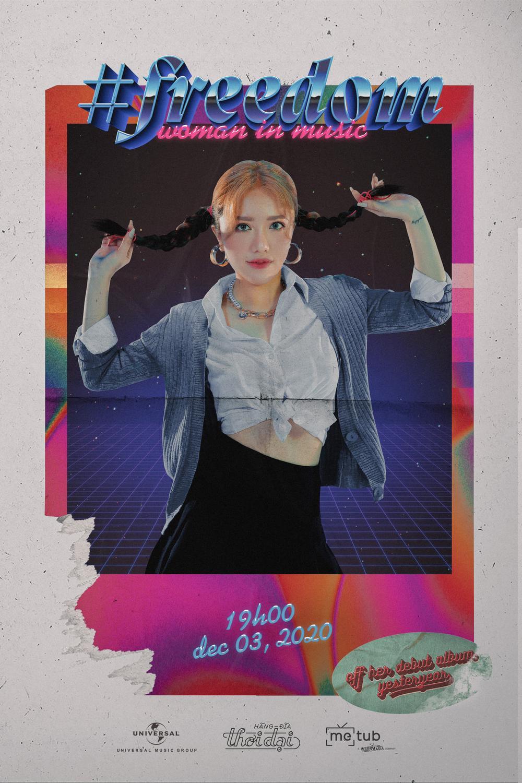 Hé lộ tạo hình rất Britney Spears của Phùng Khánh Linh trong single mới trước thềm ra mắt album Yesterday Ảnh 1