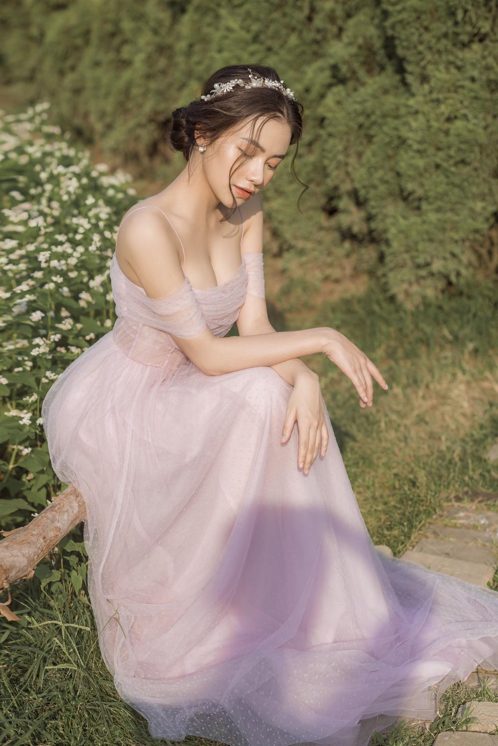Nữ sinh ĐH Văn hóa nghệ thuật Quân đội với ngoại hình xinh đẹp, chia sẻ niềm đam mê đặc biệt với âm nhạc Ảnh 4