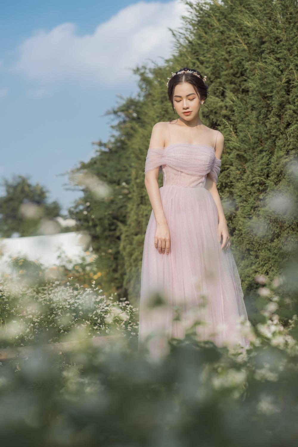 Nữ sinh ĐH Văn hóa nghệ thuật Quân đội với ngoại hình xinh đẹp, chia sẻ niềm đam mê đặc biệt với âm nhạc Ảnh 3