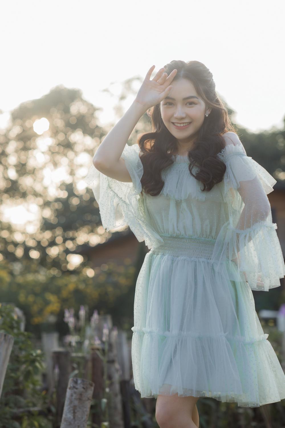 Nữ sinh ĐH Văn hóa nghệ thuật Quân đội với ngoại hình xinh đẹp, chia sẻ niềm đam mê đặc biệt với âm nhạc Ảnh 6