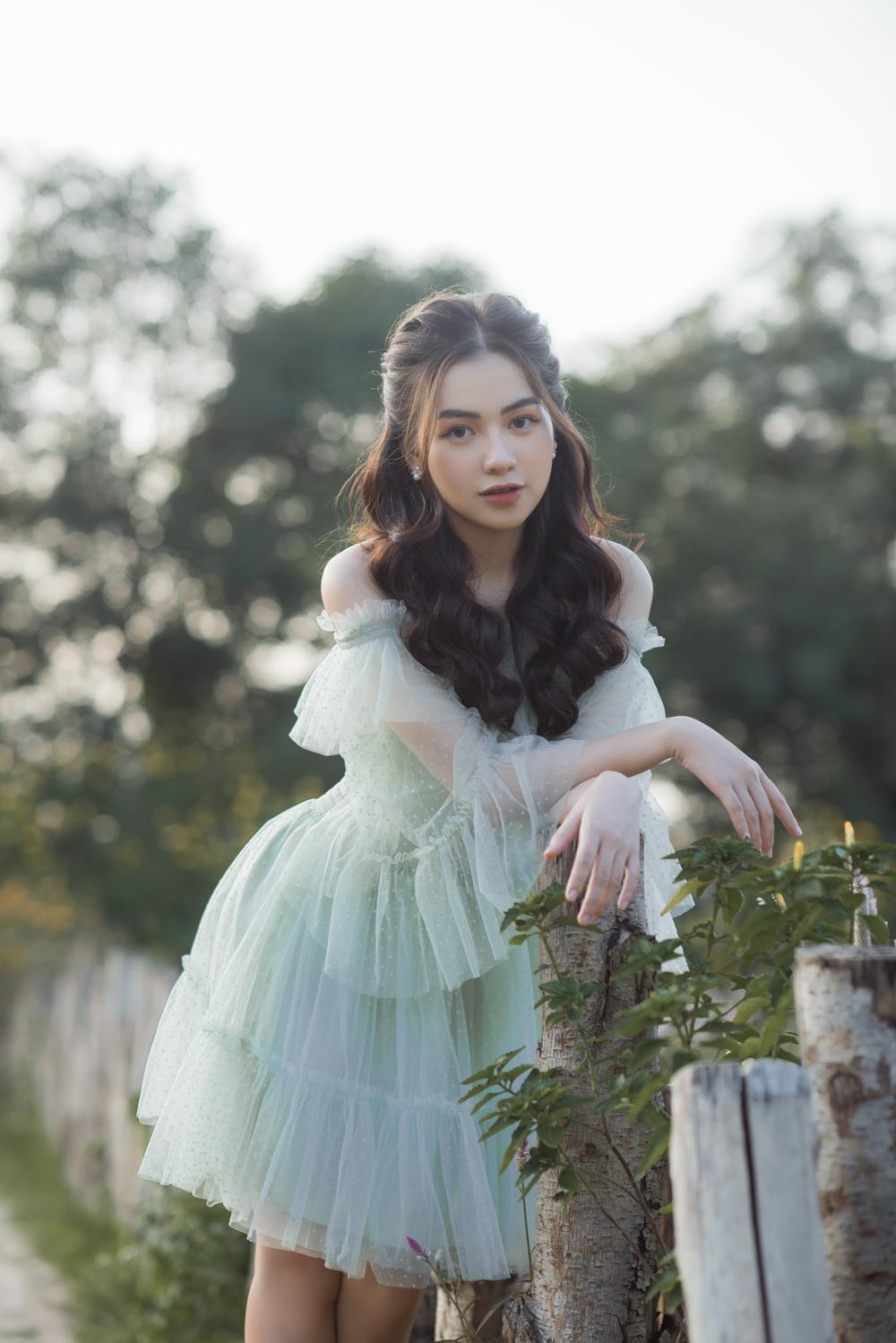 Nữ sinh ĐH Văn hóa nghệ thuật Quân đội với ngoại hình xinh đẹp, chia sẻ niềm đam mê đặc biệt với âm nhạc Ảnh 5