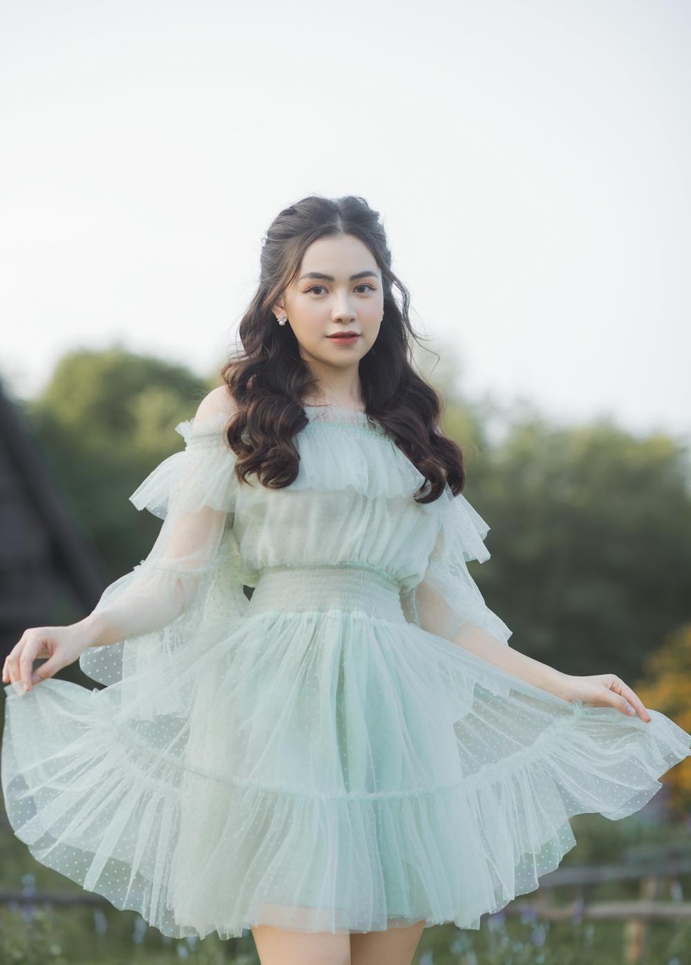 Nữ sinh ĐH Văn hóa nghệ thuật Quân đội với ngoại hình xinh đẹp, chia sẻ niềm đam mê đặc biệt với âm nhạc Ảnh 7