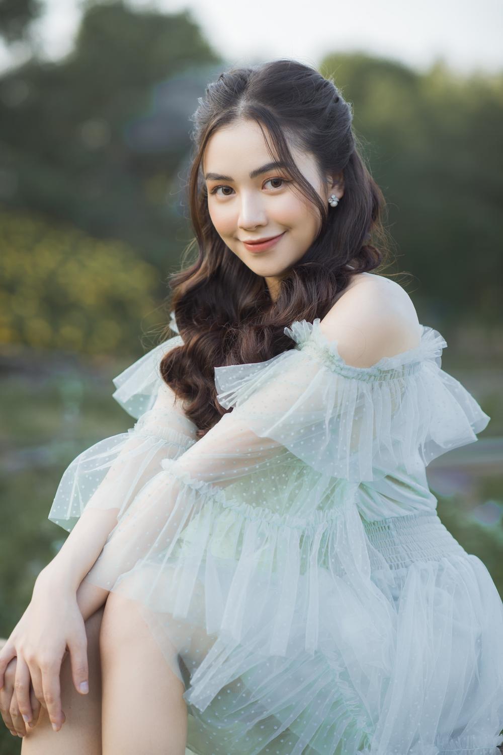 Nữ sinh ĐH Văn hóa nghệ thuật Quân đội với ngoại hình xinh đẹp, chia sẻ niềm đam mê đặc biệt với âm nhạc Ảnh 8