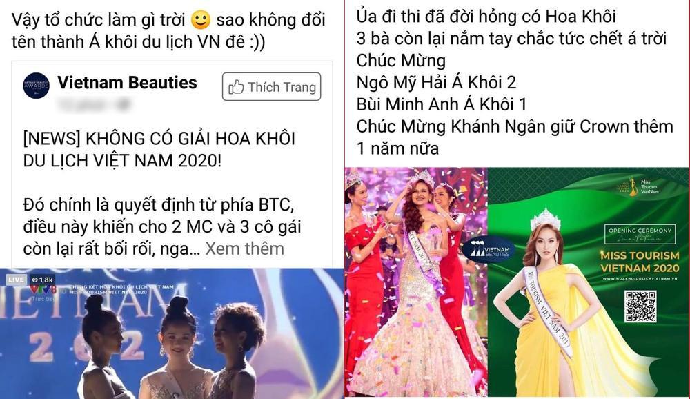 'Hốt sạn' đêm chung kết Hoa khôi Du lịch Việt Nam: Fan 'tẩy chay' không nên tổ chức mùa giải tiếp theo Ảnh 5