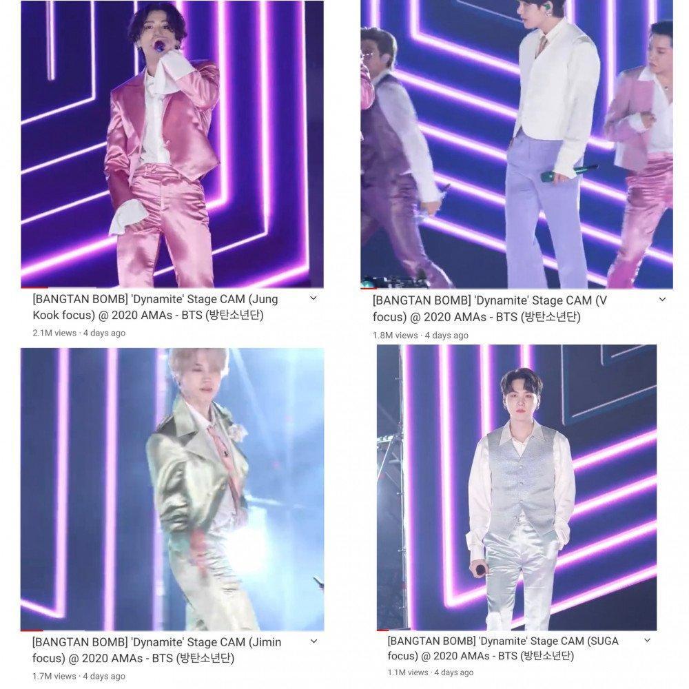 Mang danh 'anh áo vest hồng', Jungkook (BTS) thu về lượt xem fancam khủng Ảnh 4