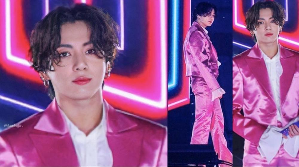 Mang danh 'anh áo vest hồng', Jungkook (BTS) thu về lượt xem fancam khủng Ảnh 3