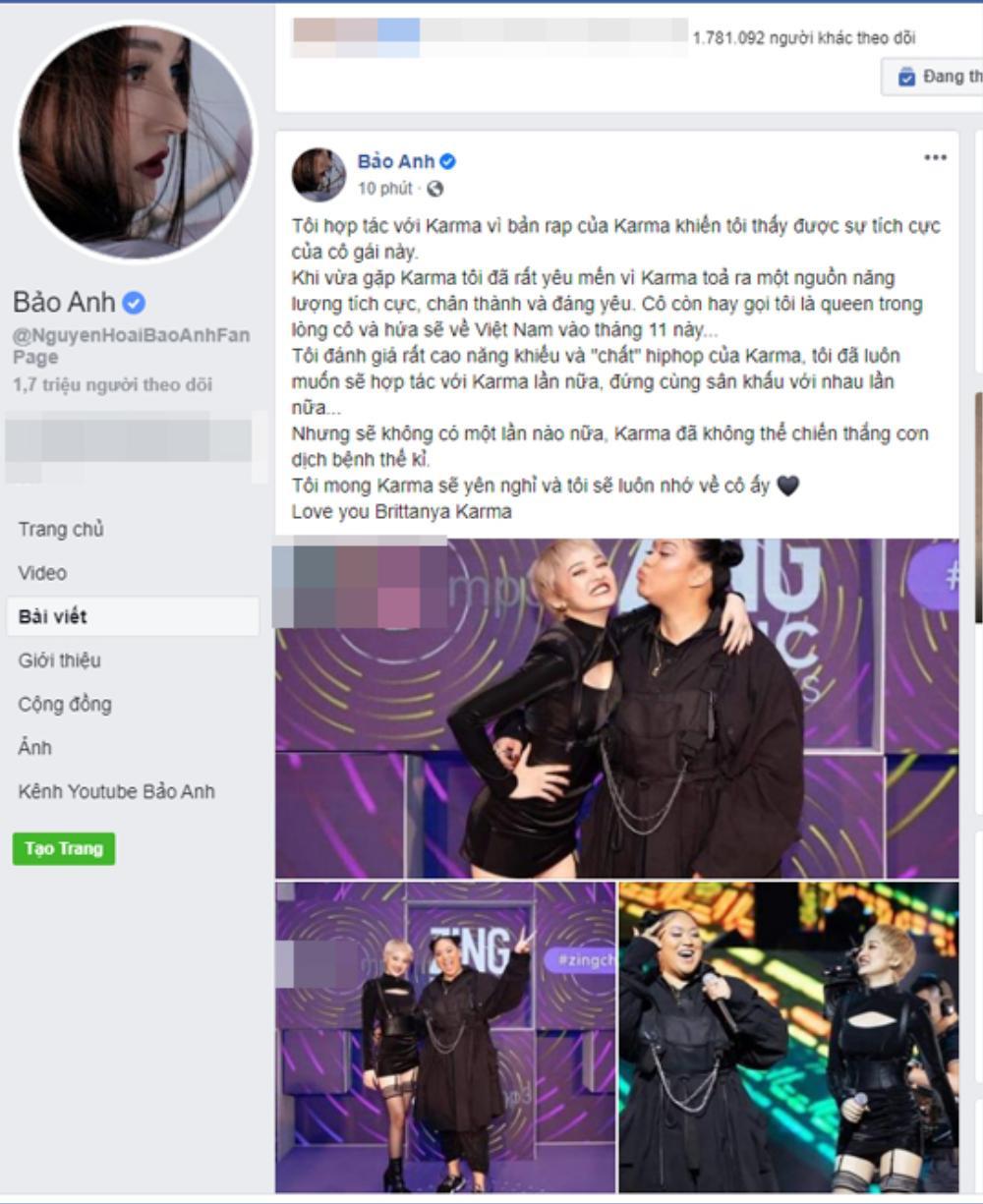 Dân mạng sốc và đau xót trước tin hot YouTuber Brittanya Karma qua đời vì COVID-19 Ảnh 3
