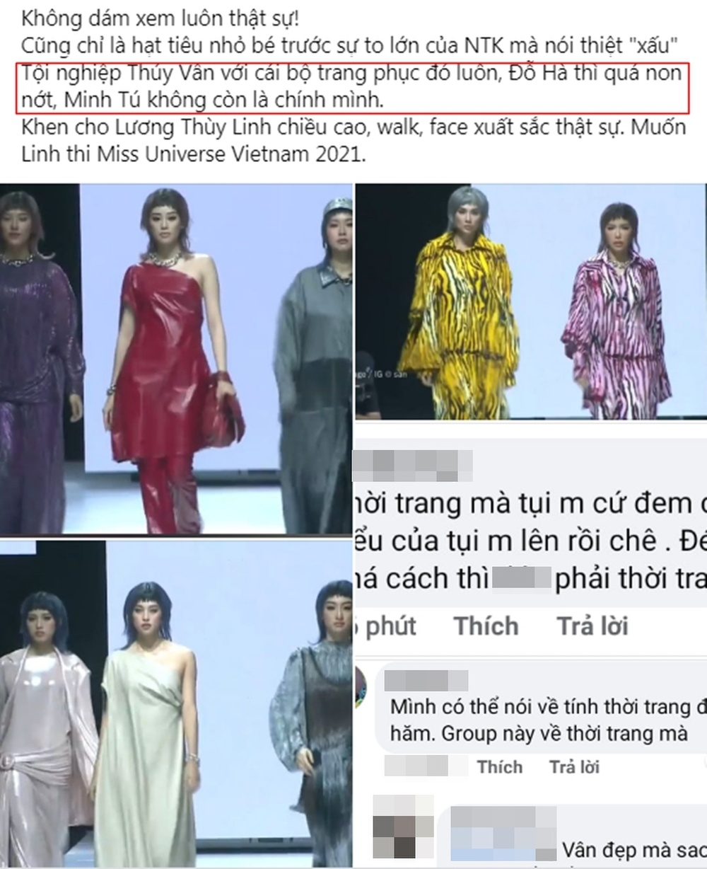 Lương Linh 'lấn át' Đỗ Thị Hà non nớt - Minh Tú bị chê 'đánh mất chính mình', lép vế trước Tiểu Vy? Ảnh 7
