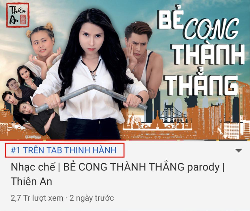 Vừa được YouTube vinh danh, 'Thánh parody' Thiên An ăn mừng kênh sắp đạt 1 tỉ view và bật mí điều bất ngờ Ảnh 3