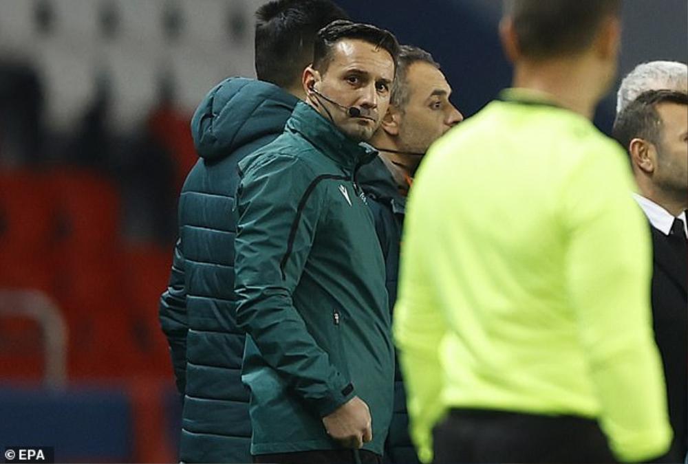 Trọng tài phân biệt chủng tộc, trận PSG vs Basaksehir bị hoãn sau 13 phút Ảnh 3