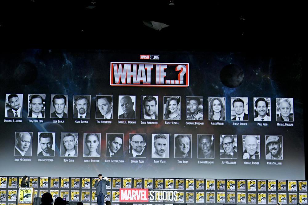 What If - Phim hoạt hình đầu tiên của Marvel tung clip giới thiệu: Nguyên vũ trụ vào đây hết Ảnh 1