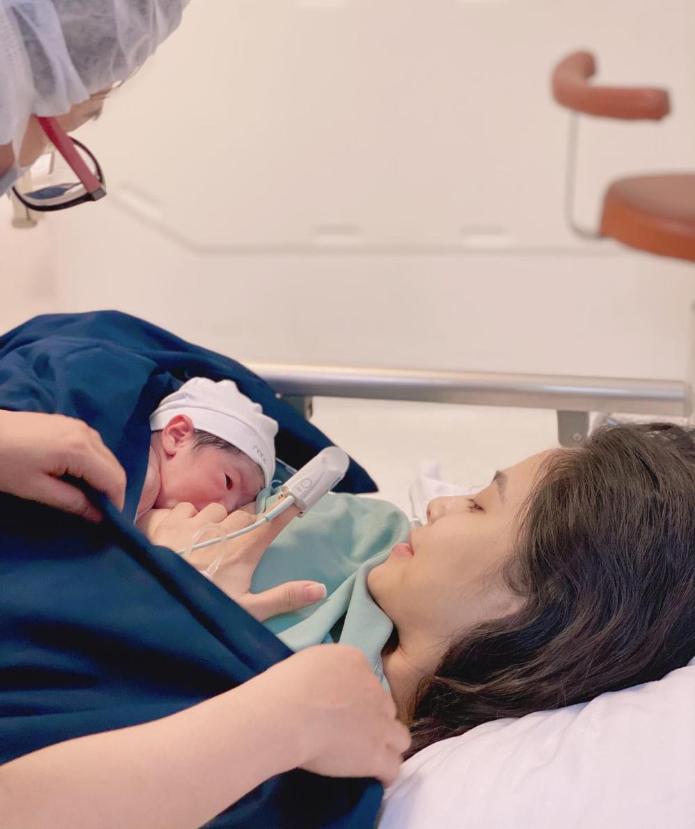 Ca nương Kiều Anh bất ngờ thông báo đã hạ sinh con trai thứ hai Ảnh 2