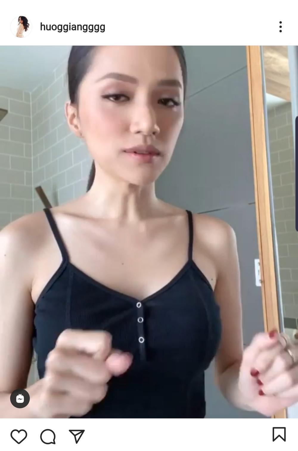 Vòng 1 khi phồng phi xẹp đến khó hiểu của hoa hậu thị phi Hương Giang Ảnh 10