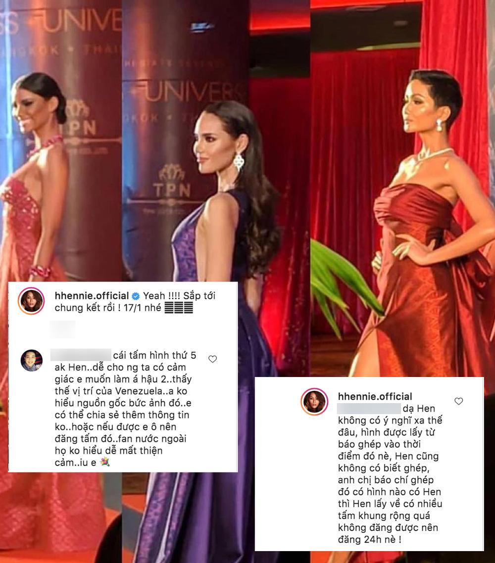 H'Hen Niê lên tiếng khi bị fan bắt bẻ: Muốn thay 'cô bé đô con' Venezuela làm Á hậu 2 Miss Universe? Ảnh 3