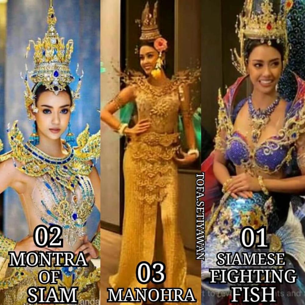 Hoa hậu Hoàn vũ Thái Lan gây tranh cãi khi mang trang phục dân tộc bầu ngực trần tới Miss Universe 2020 Ảnh 1