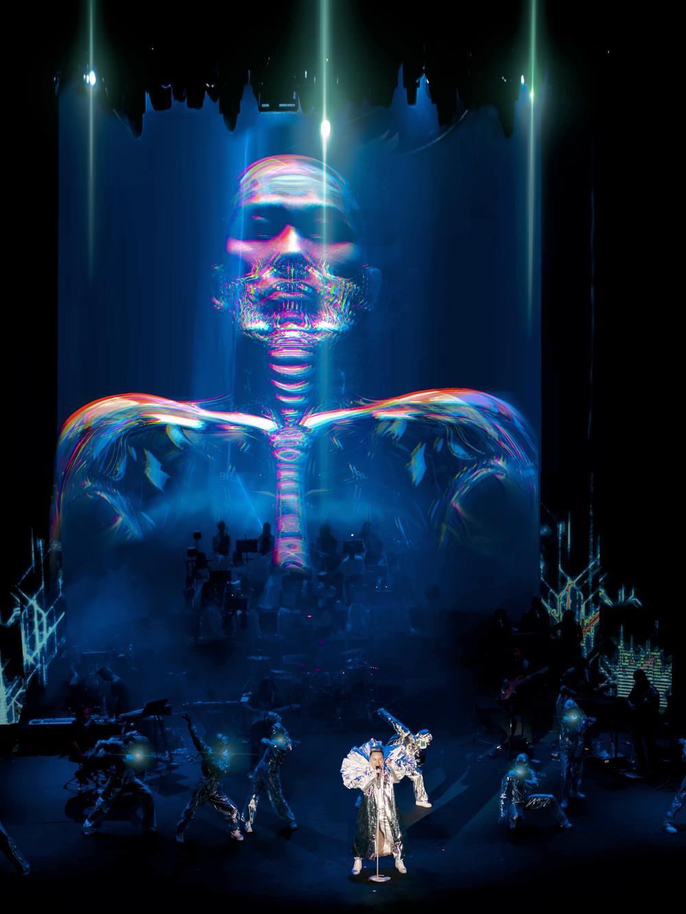 NTK tiết lộ mất 6 tháng để làm hình ảnh 'quái' cho concert của Tùng Dương Ảnh 2