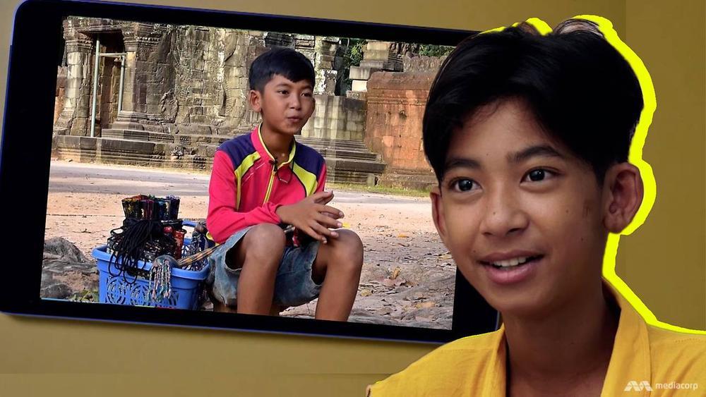 Cuộc sống của cậu bé bán rong Campuchia nói được 16 thứ tiếng bây giờ ra sao? Ảnh 1