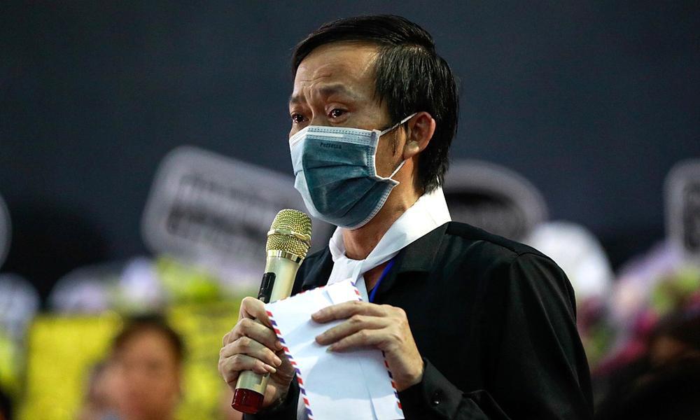 Rơi nước mắt bài thơ tình bạn 25 năm NSƯT Hoài Linh viết tặng cố NS Chí Tài Ảnh 5
