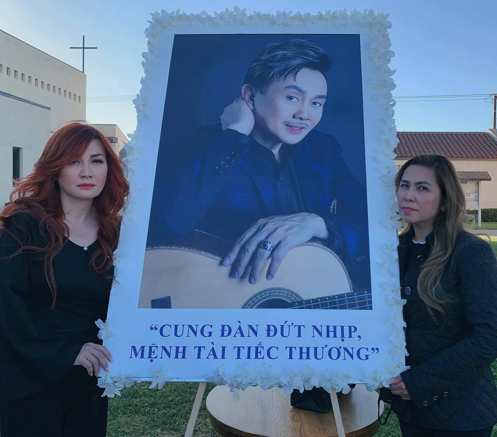 Trizzie Phương Trinh buồn bã chia sẻ về tang lễ NS Chí Tài: 'Rồi đây Bé Heo sẽ làm nũng với ai?' Ảnh 1