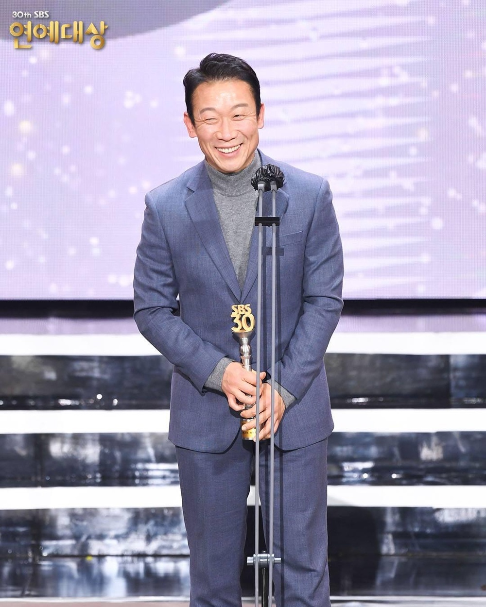 Kết quả 'SBS Entertainment Awards 2020': Kim Jong Kook thắng Daesang, Yoo Jae Suk 'Running Man' trắng tay Ảnh 53