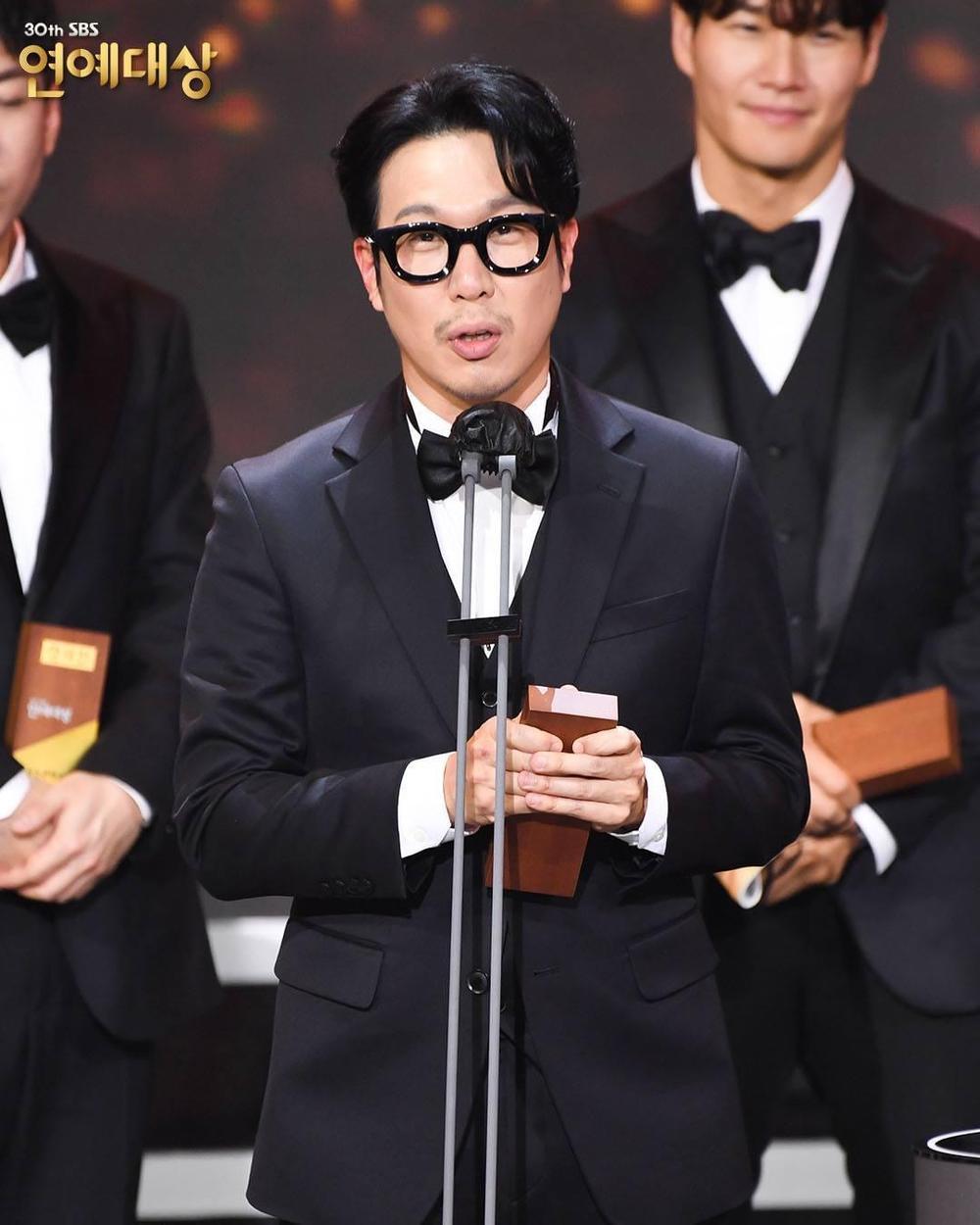 Kết quả 'SBS Entertainment Awards 2020': Kim Jong Kook thắng Daesang, Yoo Jae Suk 'Running Man' trắng tay Ảnh 44