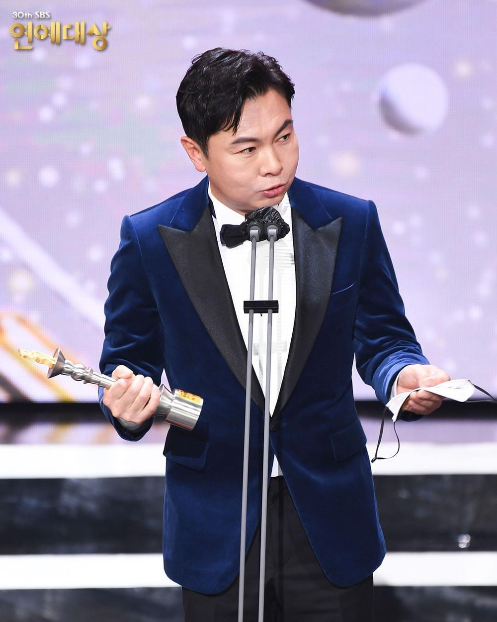 Kết quả 'SBS Entertainment Awards 2020': Kim Jong Kook thắng Daesang, Yoo Jae Suk 'Running Man' trắng tay Ảnh 51