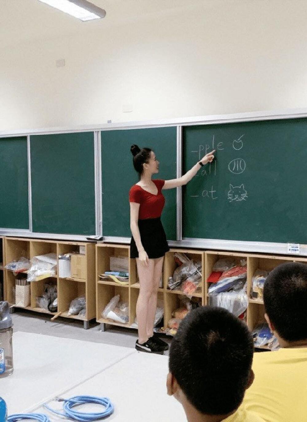 Cô giáo mầm non ăn mặc gợi cảm khi đứng lớp khiến phụ huynh tranh cãi dữ dội Ảnh 5