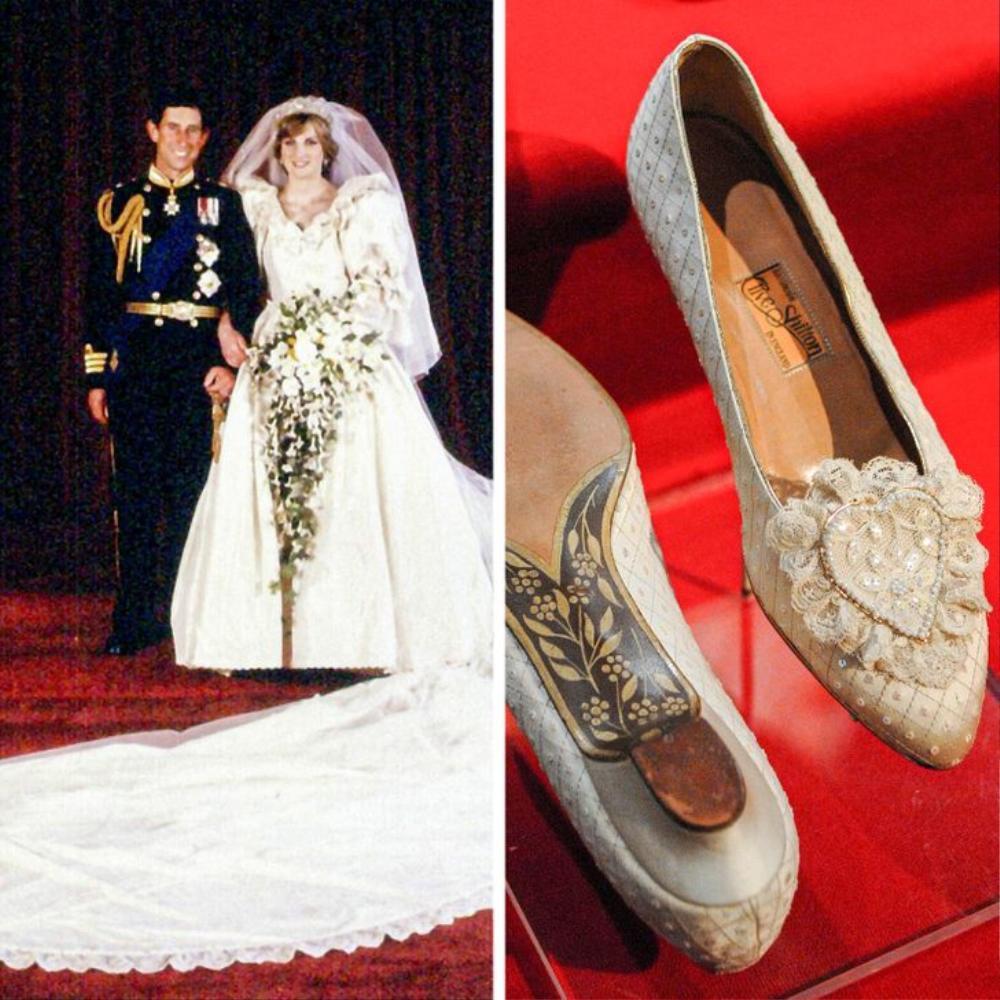 10 đôi giày cao gót huyền thoại trong đám cưới Hoàng gia và Hollywood Ảnh 3