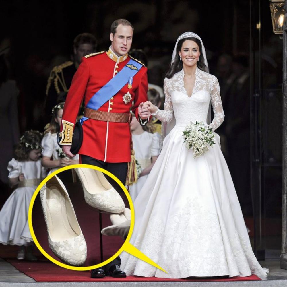 10 đôi giày cao gót huyền thoại trong đám cưới Hoàng gia và Hollywood Ảnh 6