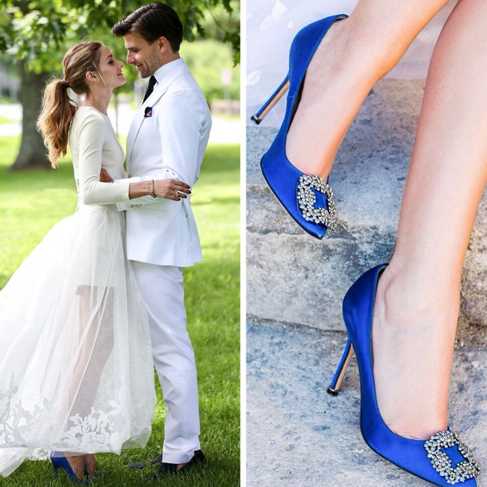 10 đôi giày cao gót huyền thoại trong đám cưới Hoàng gia và Hollywood Ảnh 10