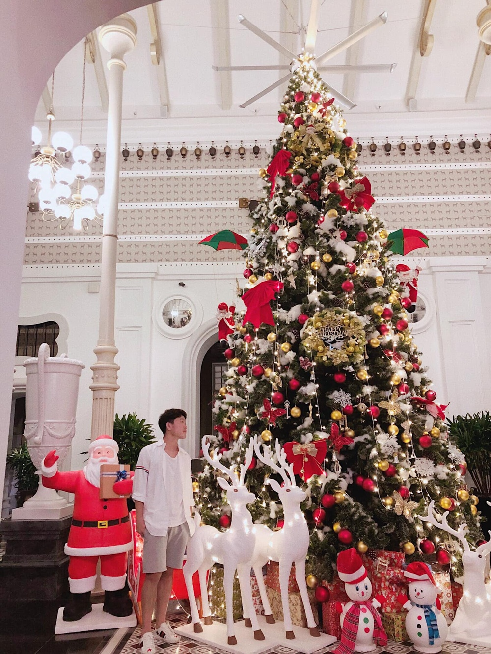 Nàng WAGs Võ Nhật Linh khoe nhan sắc 'gây thương nhớ' dịp lễ Noel Ảnh 8