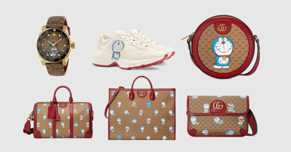 Gucci in hình Doraemon lên túi xách, quần áo bán giá ngàn đô Ảnh 2