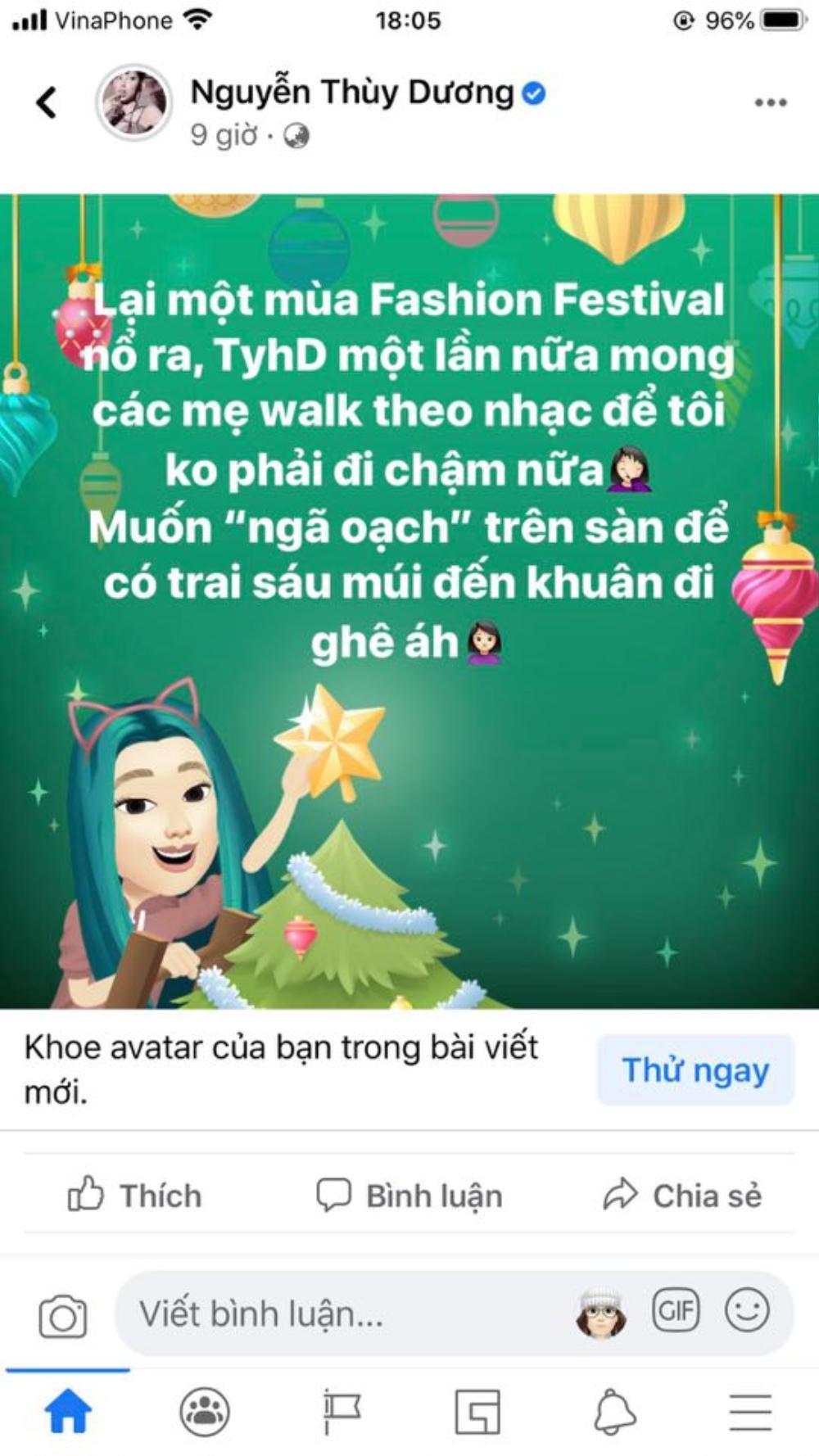 Thùy Dương bất ngờ bóng gió về sự cố 'vồ ếch' của hot girl Thanh Tâm Ảnh 2