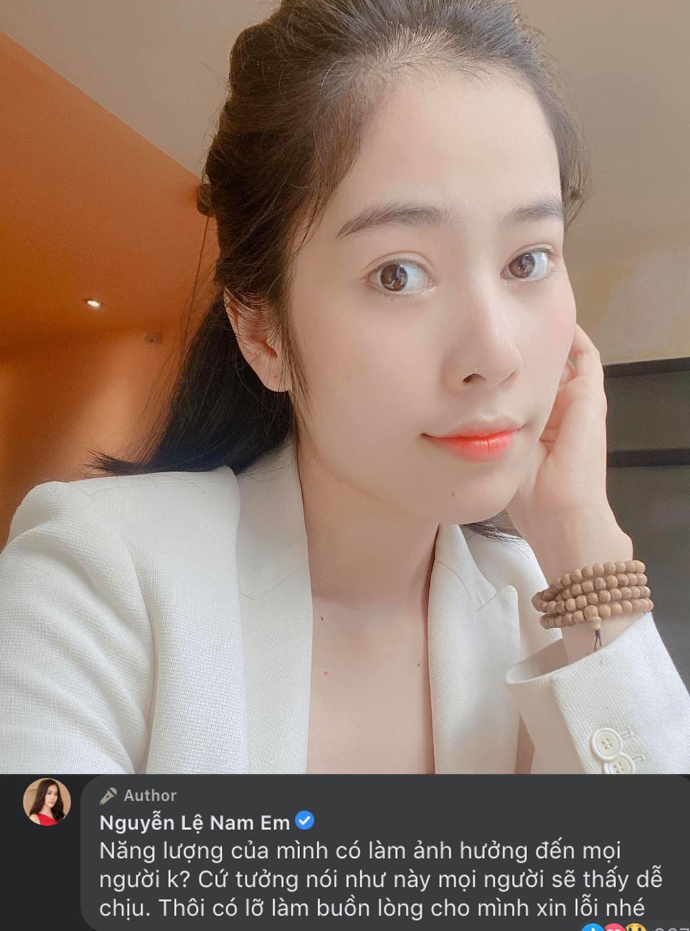 Sau công khai yêu Lãnh Thanh, Nam Em xin lỗi fan trước dòng trạng thái bị nghi ngờ mắc trầm cảm trở lại Ảnh 5
