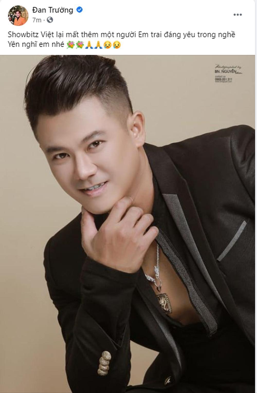 Đan Trường, Lâm Chấn Huy, Nguyên Vũ, Lâm Hùng... đau đớn khi Vân Quang Long qua đời Ảnh 1