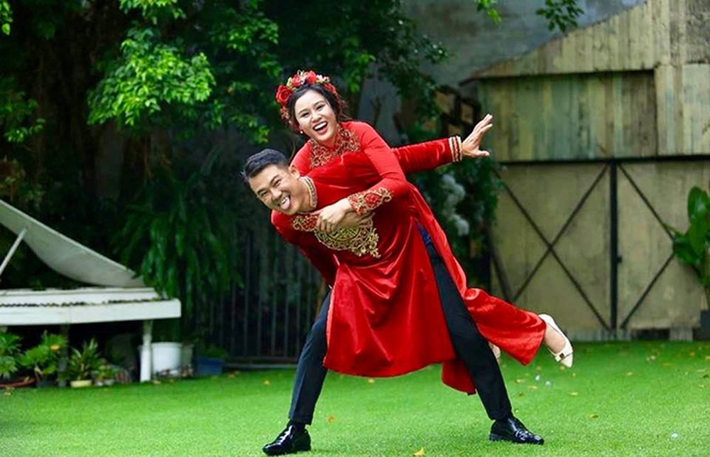 Chân dung người vợ kém tuổi của Vân Quang Long Ảnh 4