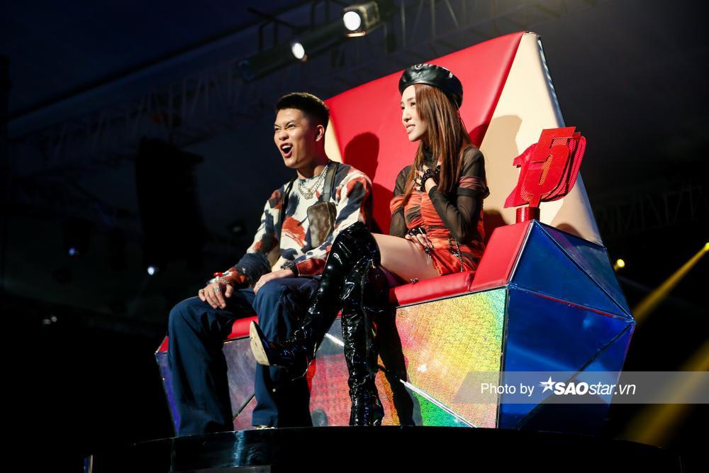 Trước mặt MC Ill, Emily khẳng định: 'Chỉ có BigDaddy là Rapper', Hồ Hoài Anh phản ứng cực duyên dáng Ảnh 2